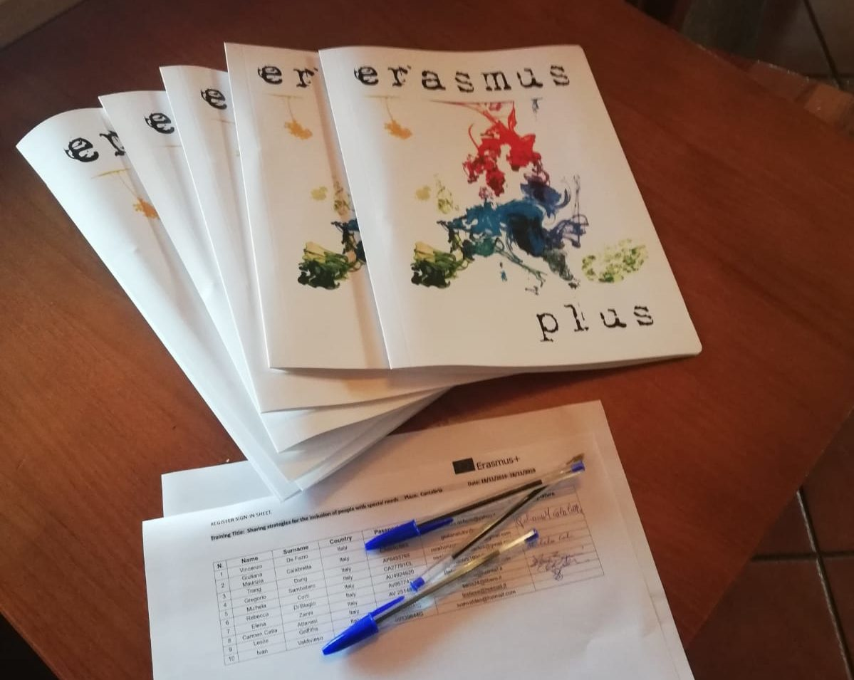 """Progetto Erasmus+ """"Sharing strategies for the inclusion of people with special needs"""""""